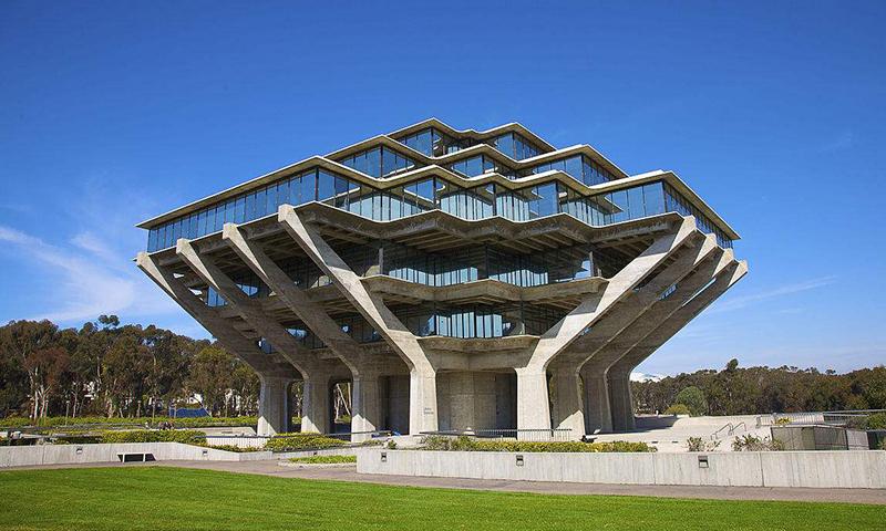 很简单,UCSDRady管理学院导视设计室内设计工作双休没有嘛图片