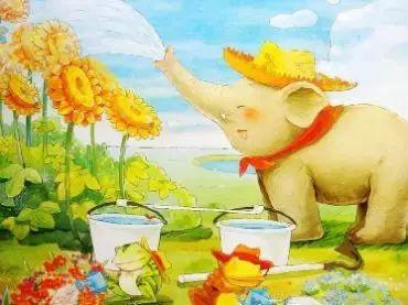 小七讲故事 小象的心愿 善良又可爱的小象