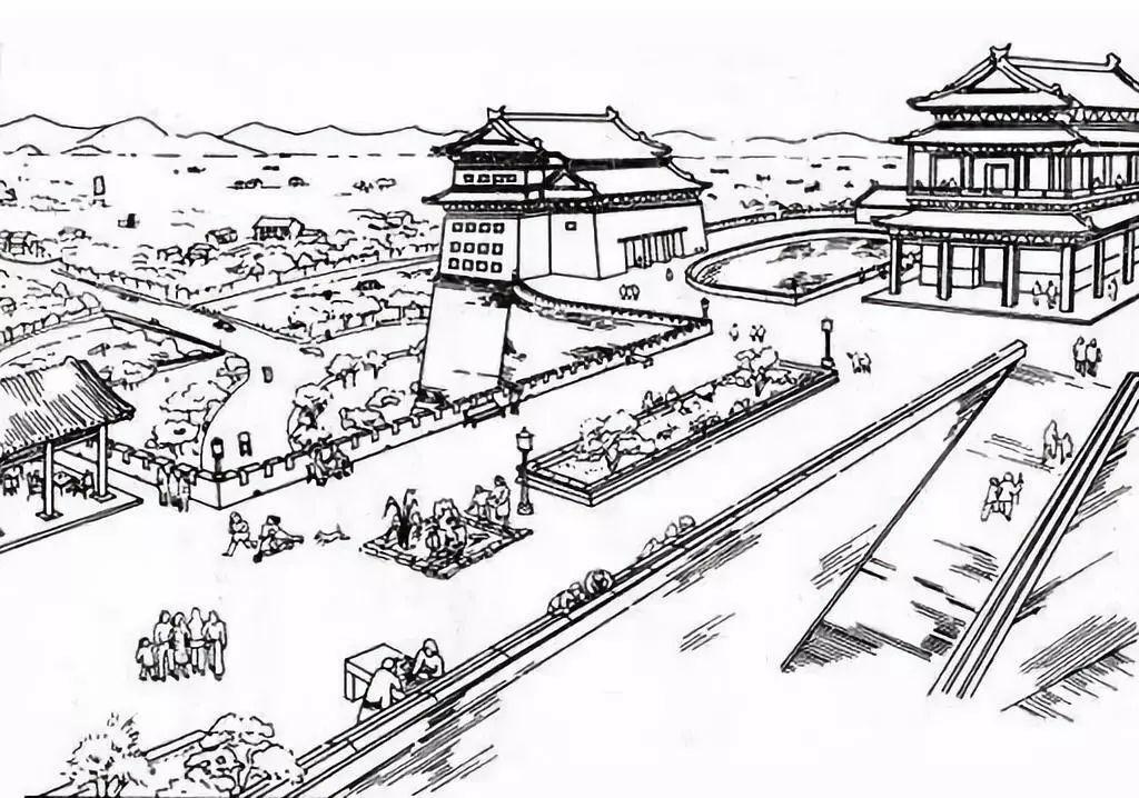 拆除北京城墙?看梁思成如何反驳图片