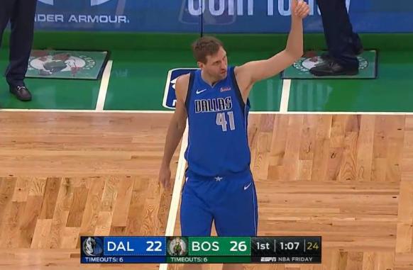 诺维斯基的0分,卡特的21分,韦德和罗斯的后场第二,这就是NBA