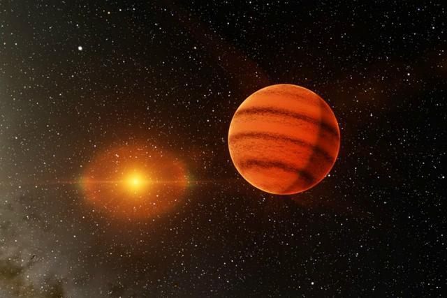 与恒星不一样的地方是这种天体不会因为核心的反应而发出非常强烈的光芒,在这种天体上面散发出的光和热