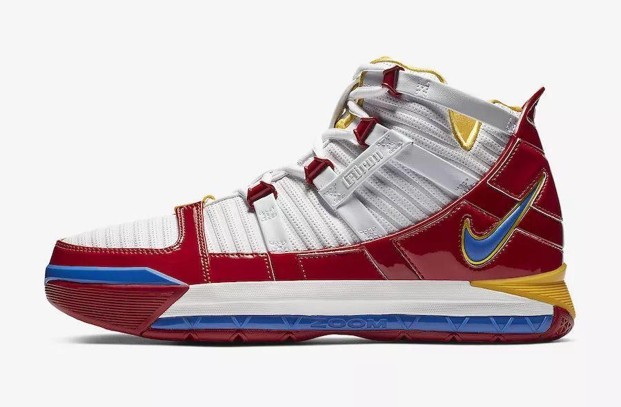 "Nike LeBron 3 ""SuperBron""  货号:AO2434-100"