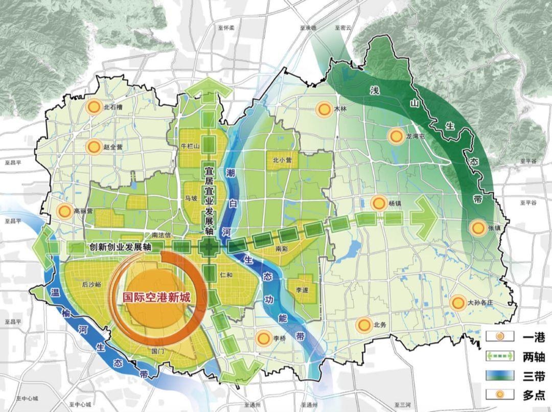 瀍河朱樱湖周边规划图