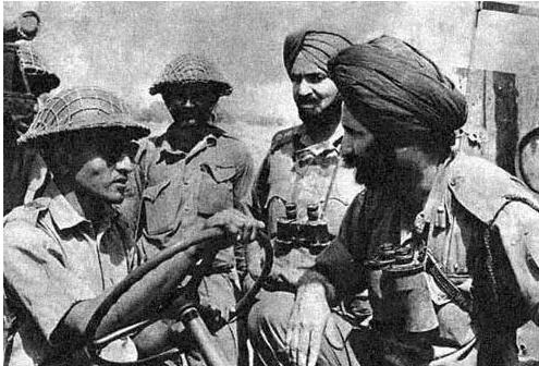 印巴大空战,巴军首战得胜_印度陆军