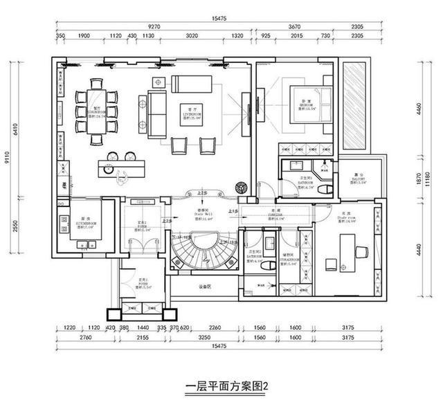 五居室的房子一般多少平米?中式风格半包装修好不好?-首地江山