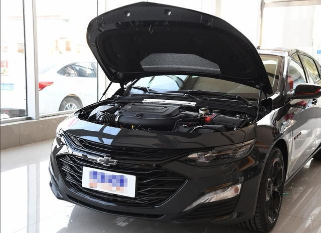 雪佛兰下狠手了这次连车标都黑了智能变缸爆款的节奏_北京赛车pk1