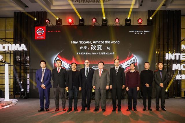 东风日产第七代天籁ALTIMA上市上海首位车主喜提_pk10用5000千一