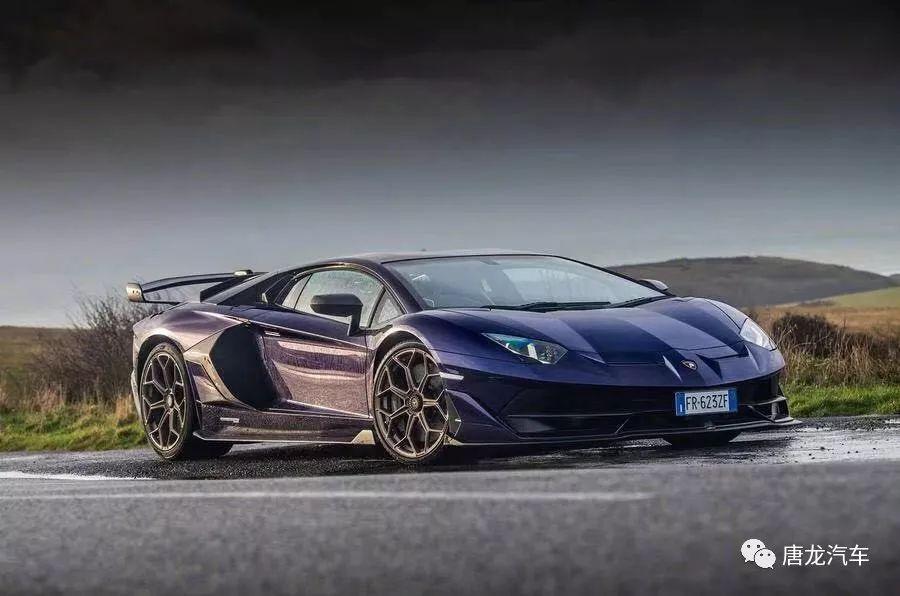 绿色地狱猛兽终极牛魔王LamborghiniAventadorSVJ国内现车全球限