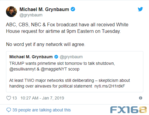 白宫没有立即回应外媒记者的置评请求。