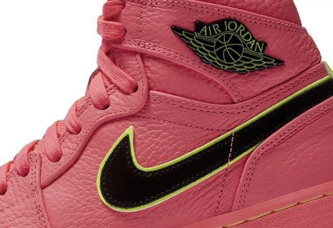 "Air Jordan 1 WMNS ""Hot Punch""  货号:AQ9131-600"