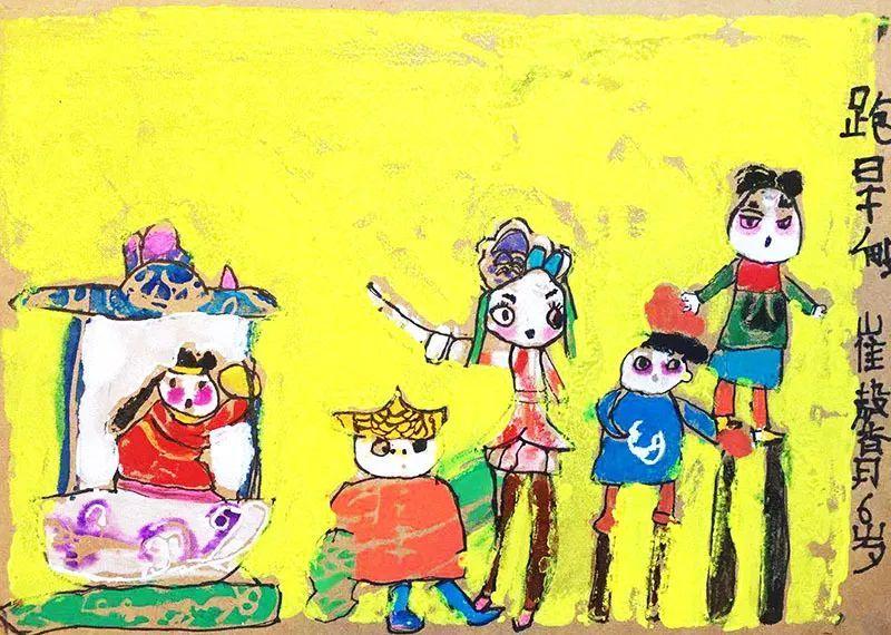 中国儿童画国际巡展全国top60榜单揭晓图片