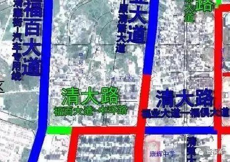福清2020规划图宏路