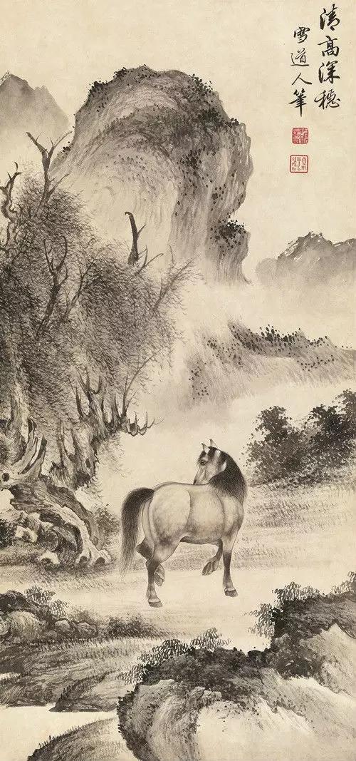 松风画会创立94年了,社员有溥心畲、陈宝琛、启功,为何没存在感