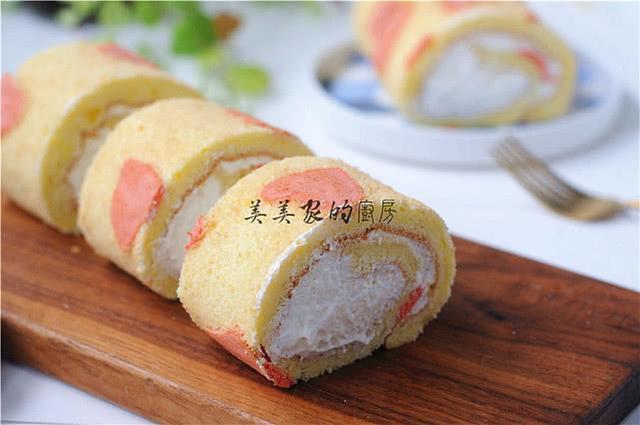 春节来临,情人节又至,爱心奶油卷快收藏,零失败,超蓬松!