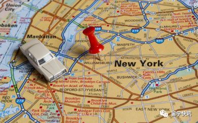 纽约考察日记!大学/生活/安全/娱乐地图~