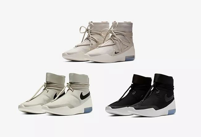"Nike Air Fear of God 1 ""Light Bone""  货号:AR4237-002 三款"