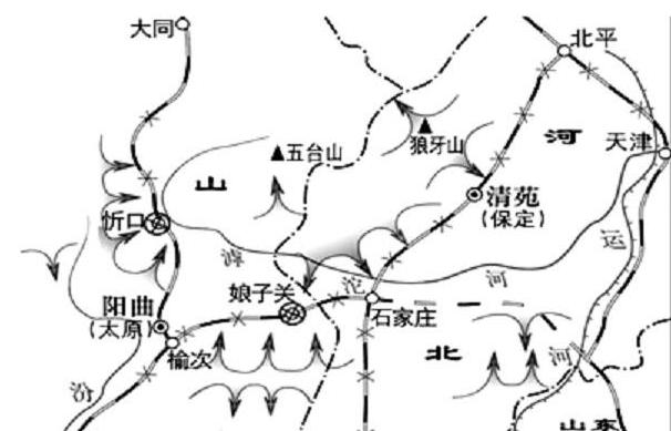 5万日军猛攻孤城太原,傅作义一个军万余人血战突围