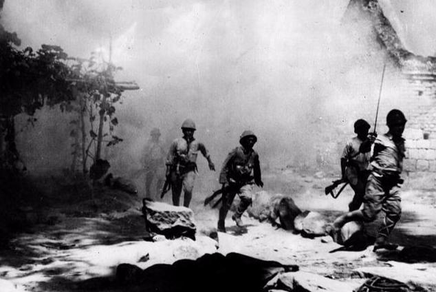 抗战中,军令部长说此地凶险,有名诗作证,蒋介石笑道不得有失