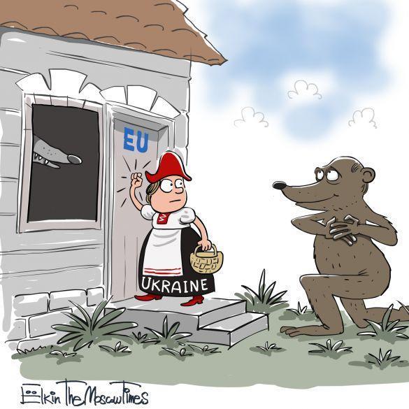乌克兰为什么要选择投靠欧美国家,和俄罗斯作对呢?