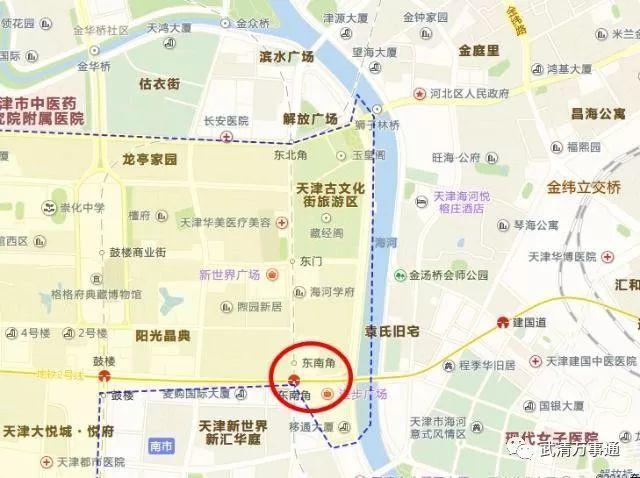 遗憾没有进入武清区 解读即将开工的地铁4号线北段