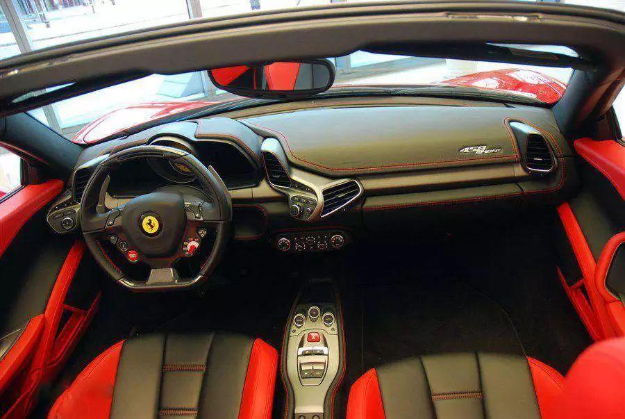万千男人的梦想之车半价的法拉利458你心动吗?_腾讯分分彩龙虎