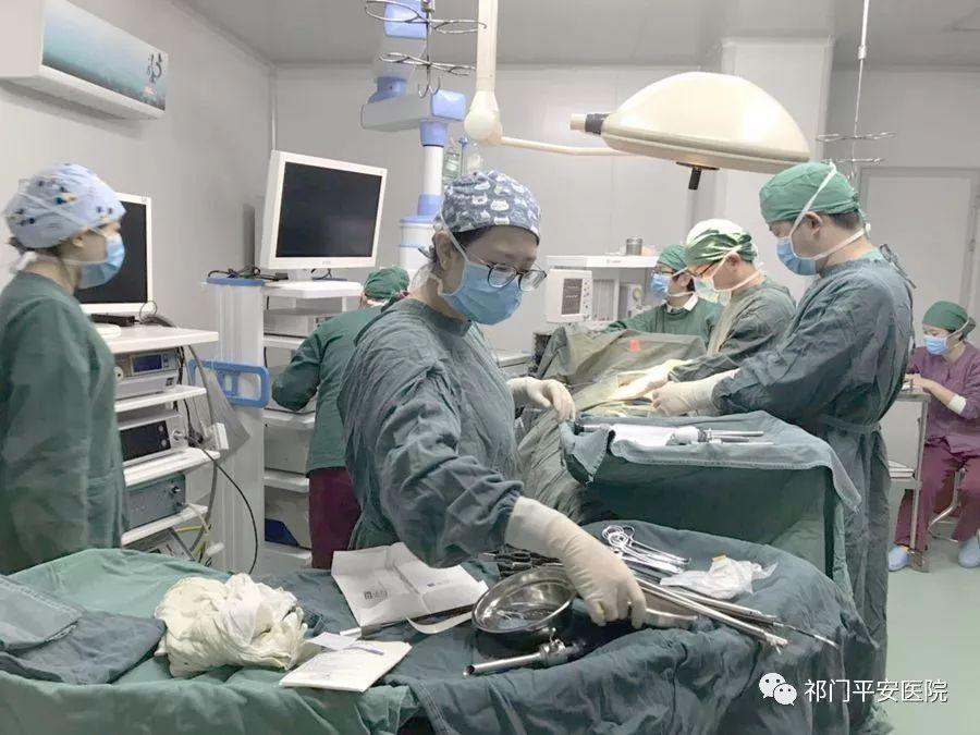 祁门平安医院成功开展首例腹腔镜联合胆道镜微创保胆取石术