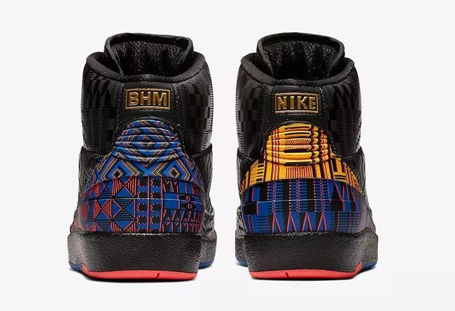 "Air Jordan 2 ""BHM""  货号:BQ7618-007 黑人月系列"