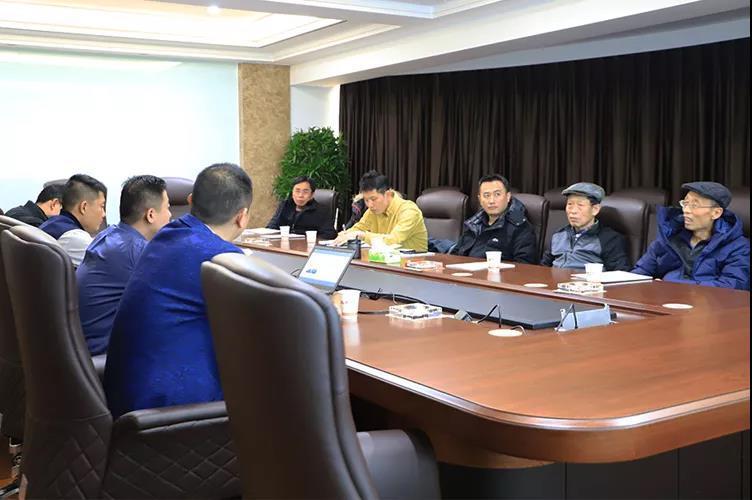 捷通智慧科技股份有限公司領導蒞臨鑫方盛參觀交流!