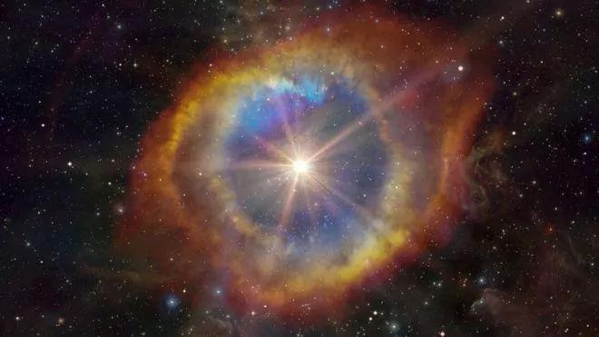 科学家发现来自15亿光年外太空深