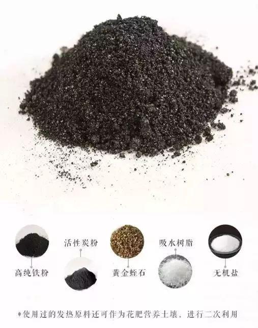 取暖贴的工作原理铁粉 活性炭_努力工作图片