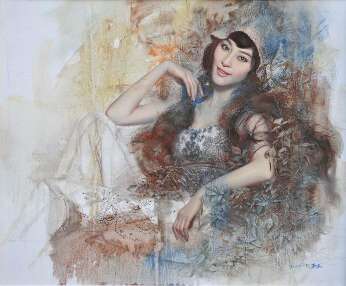 中国写实主义油画_写实主义油画肖像作品