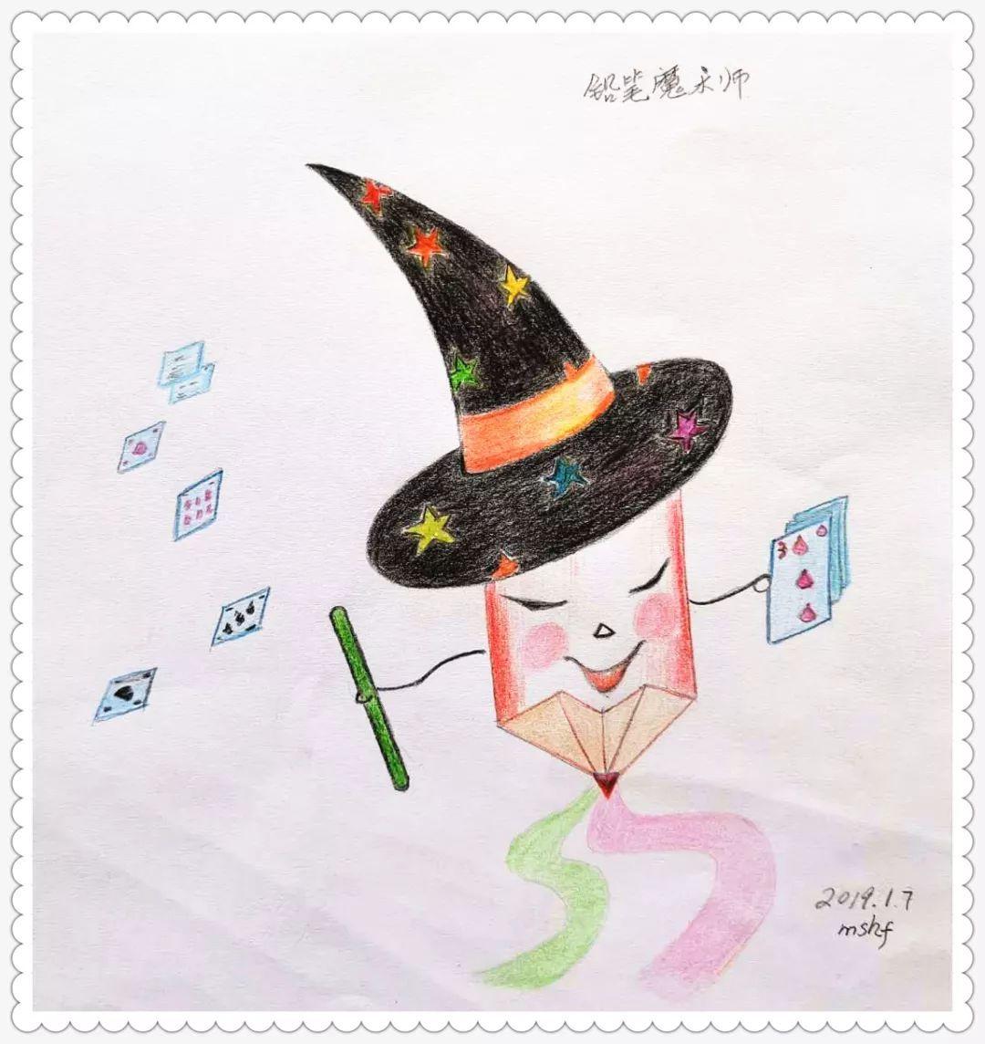 小年糕绘画训练营佳作来袭,喜气洋洋的祝福送给你