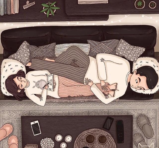 男人在睡觉前,还能为你做这四件事,是真的宠你!