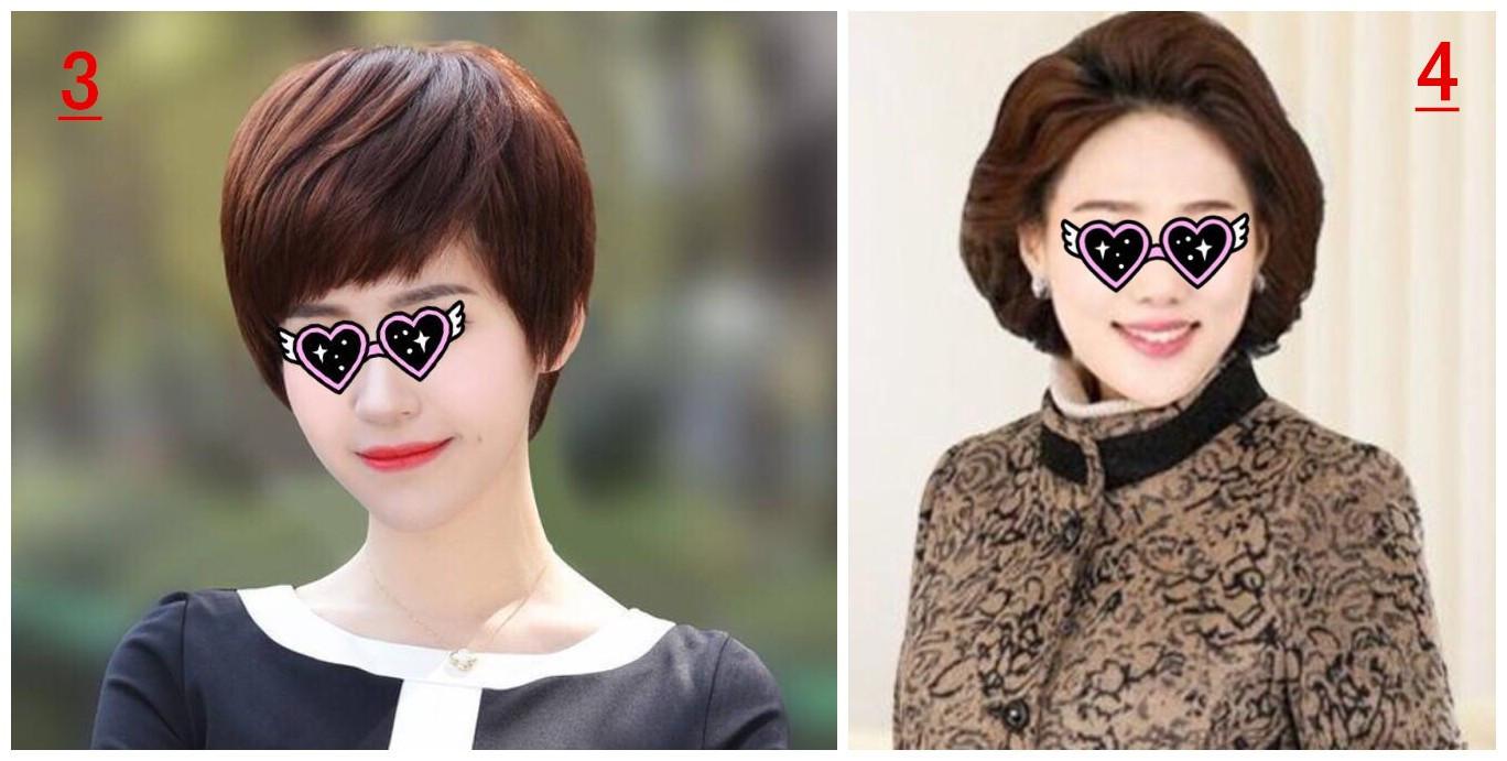 适合中年女士妈妈的短发发型,让你远离老气更显年轻!... _爱靓网