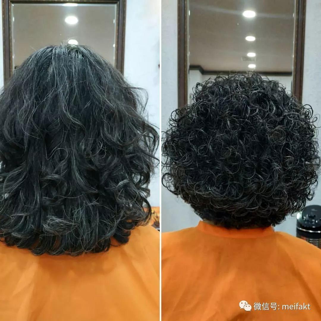中老年密斯短发烫发发型图片 中老年密斯烫发发型 - ... - 发型社