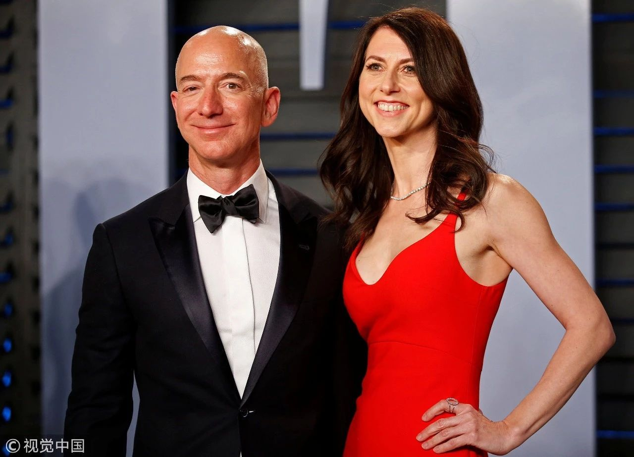 """世界首富排行榜2018_世界首富贝佐斯离婚,""""分手费""""或达660亿美元"""
