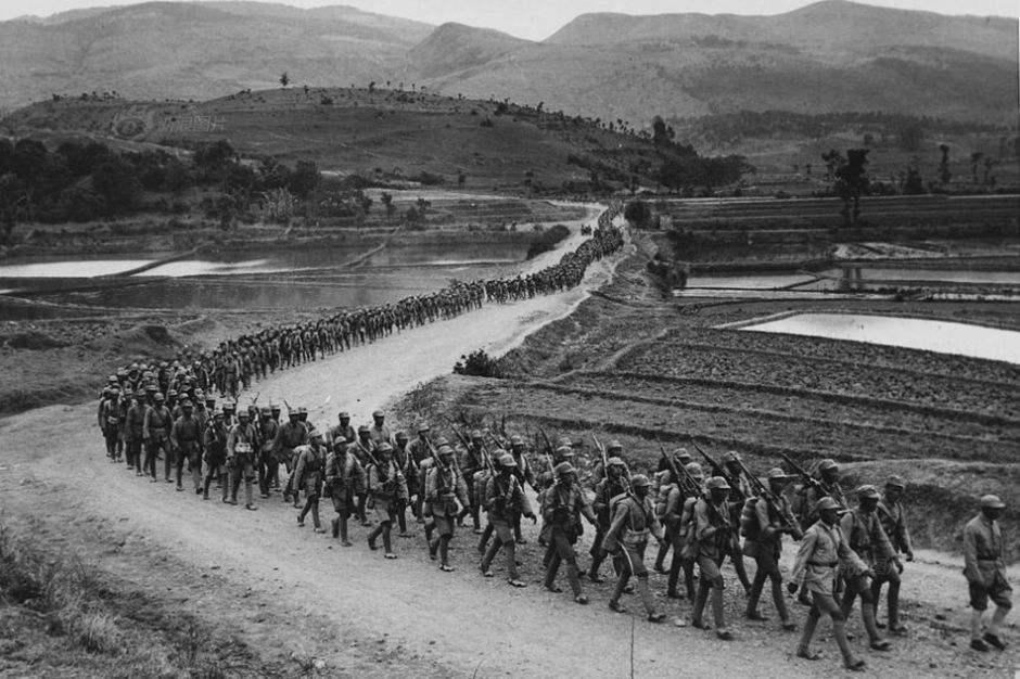 中国远征军最悲壮一幕:1500多名伤员为避免被日军俘虏,集体自焚