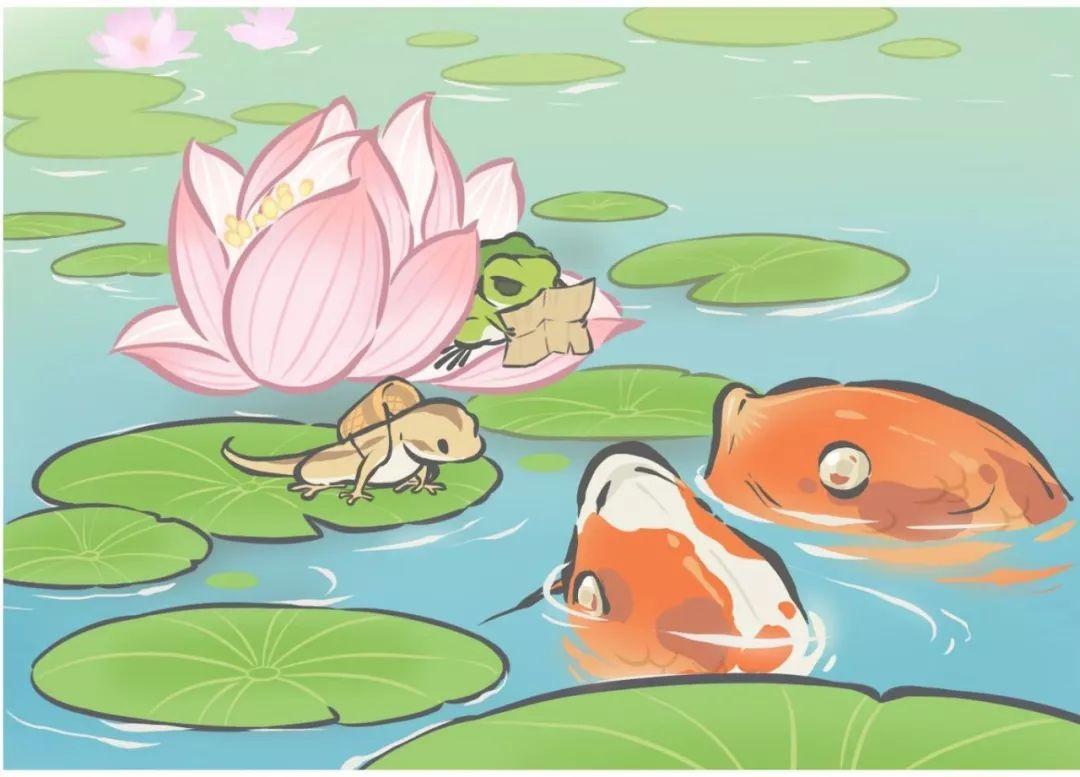 一年级课文 小青蛙