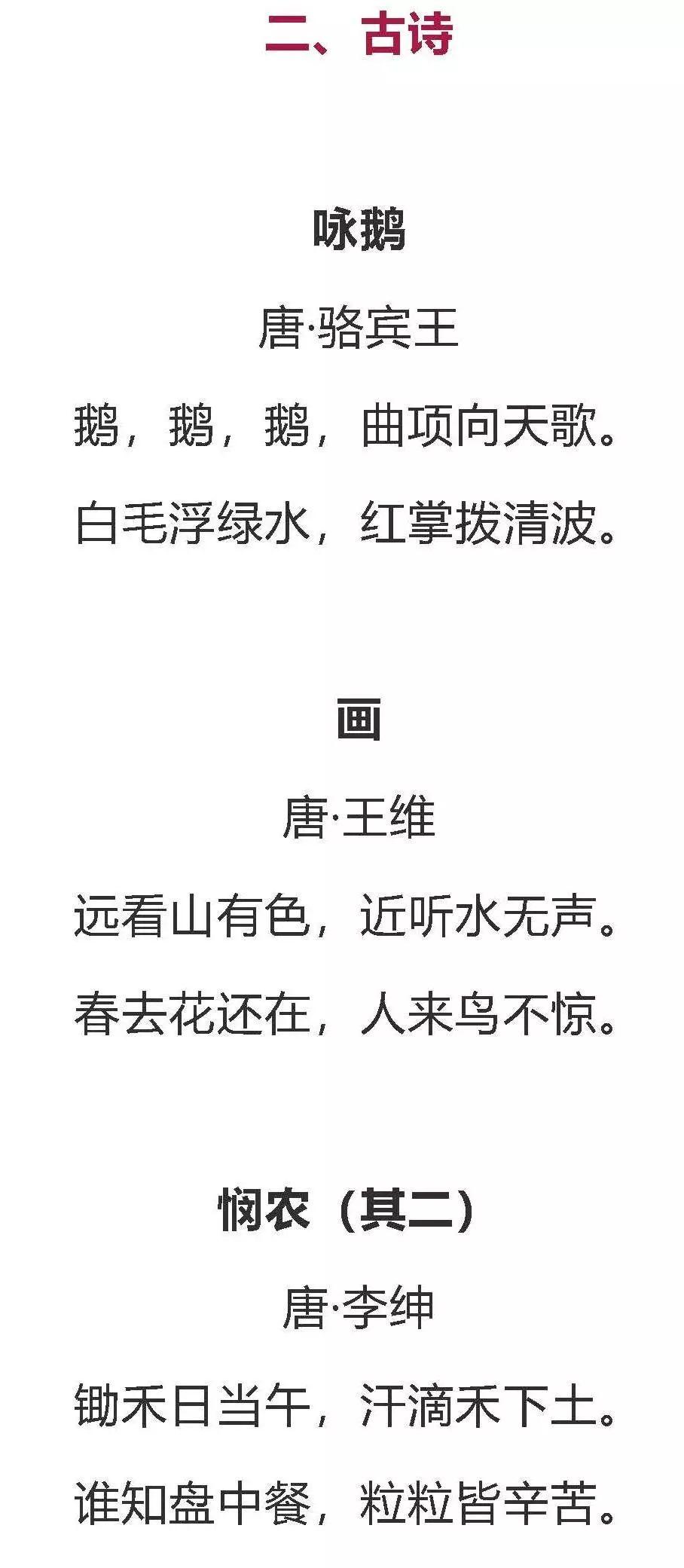 2019年小学语文六年级下册词语盘点、日积月累、古诗词背诵.d...