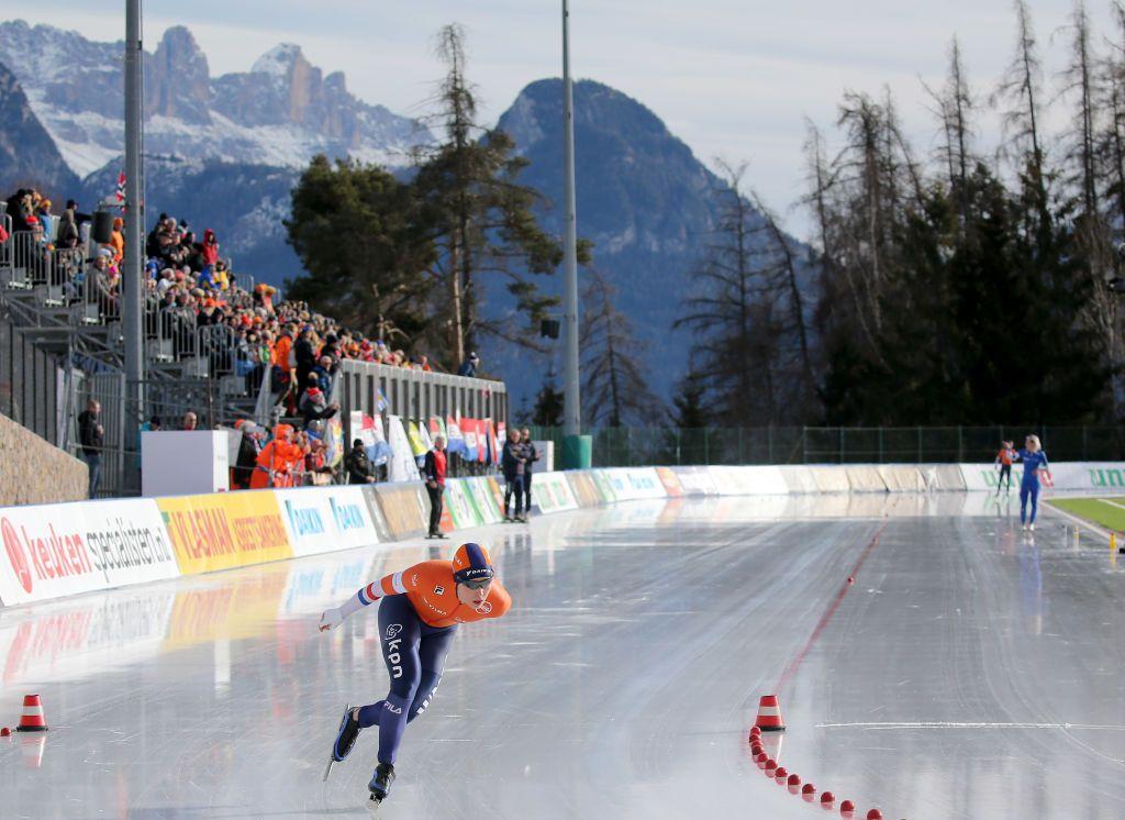 经典世界杯 速滑欧锦赛德荣首夺全能冠军 威尔比杰500称王