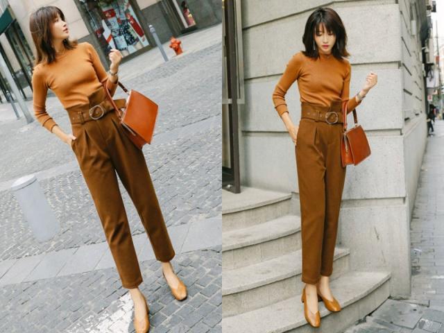 2019年流行穿休闲裤,有这4款就足够了,显高又显瘦!