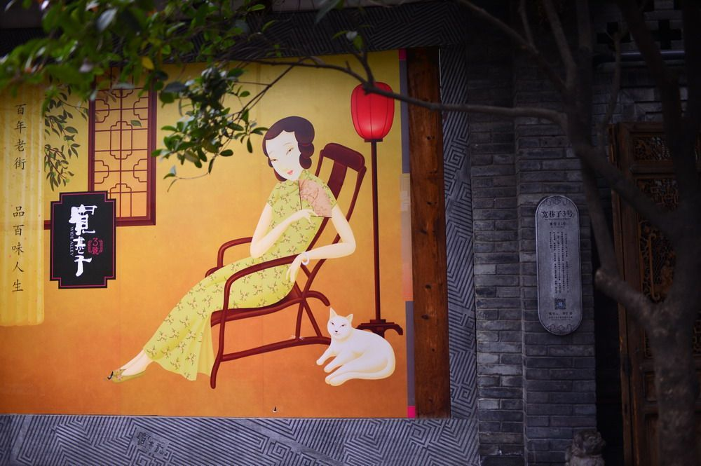 川西行记:安逸的宽窄巷子,慢泡光阴一盏茶