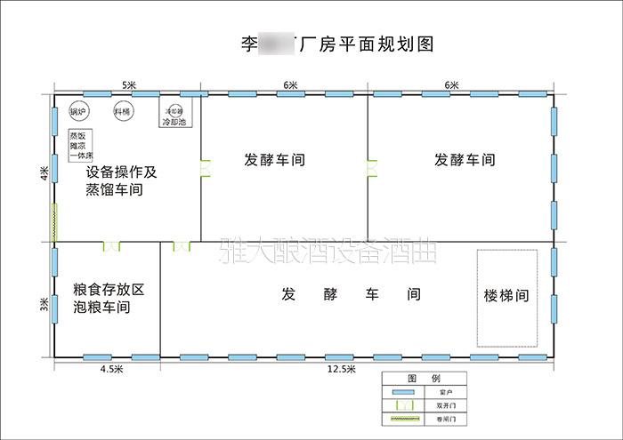 大酒厂厂房规划图