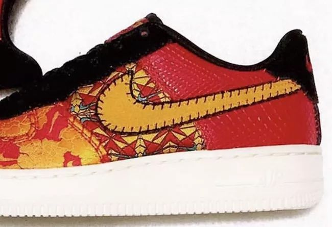 Nike Air Force 1 Low CNY  货号:AV5167-600