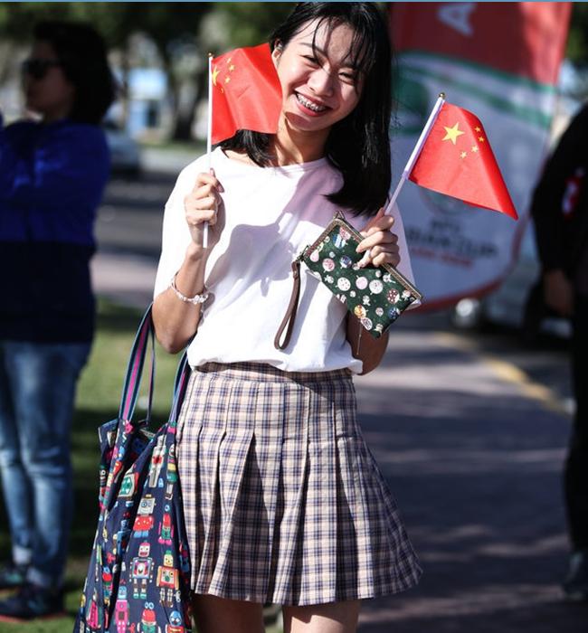 亚洲杯十大最美女球迷:选美参赛宣言越南三人上榜,中国美女力压日韩登顶!