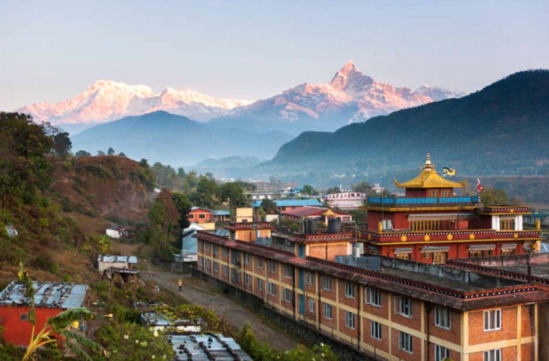 [尼泊尔,等风来]尼泊尔等风来
