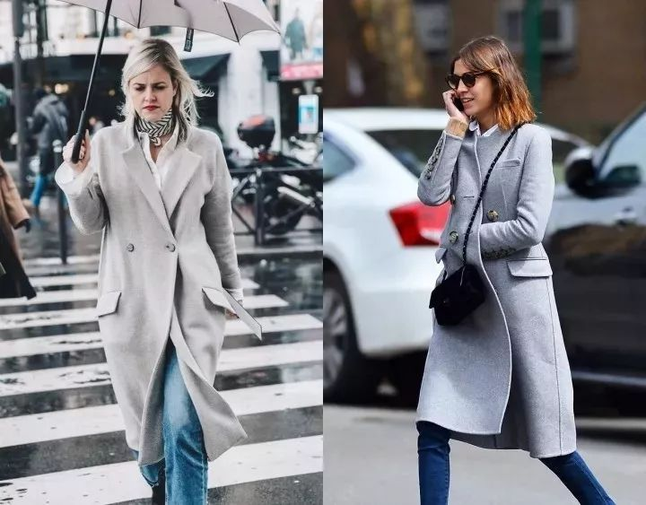 不得不买的灰色大衣,要怎么穿才能又高级又好看?!