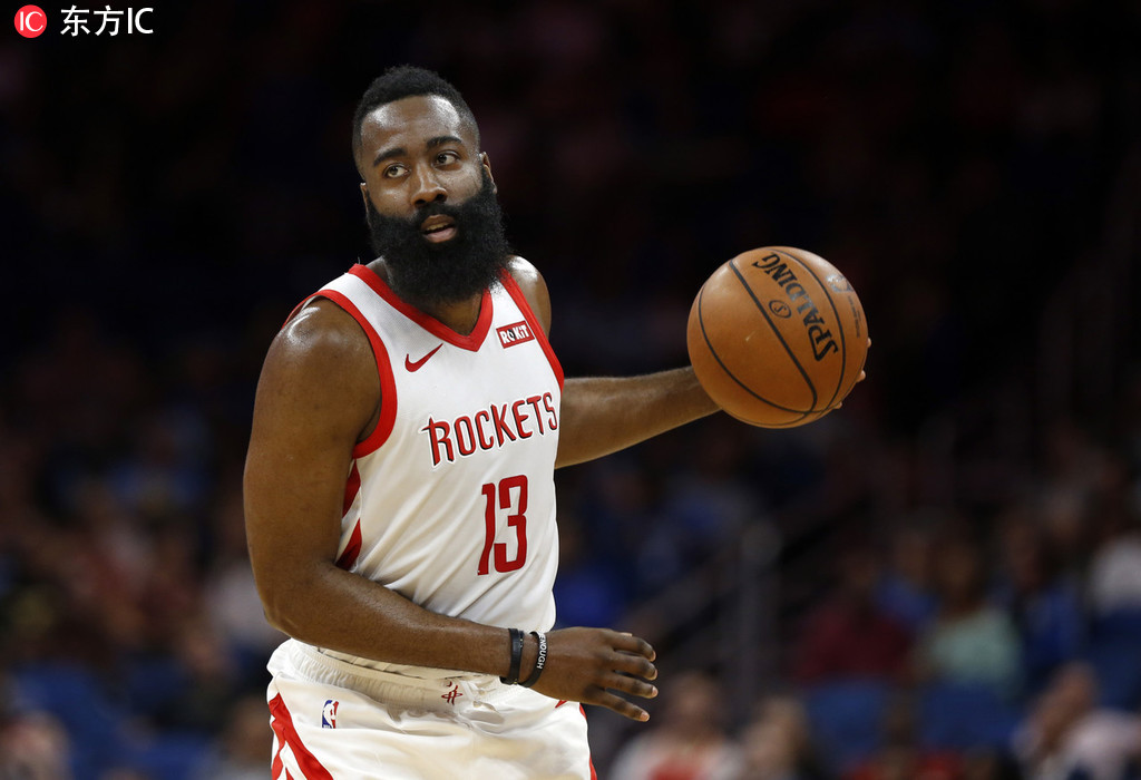 前瞻:哈登需找回3分技能包 火箭欲主场再擒灰熊 NBA新闻