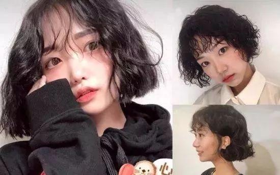 2019年最新烫头发型 2019年短发最新烫发图片图片