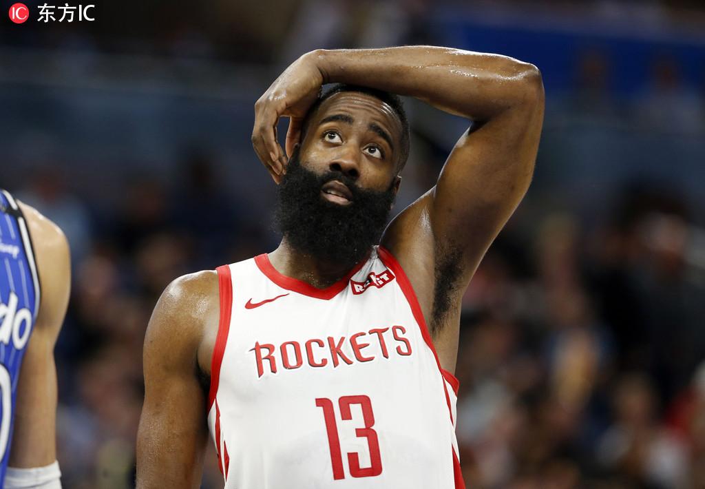 14日综述:哈登创造尴尬纪录 库里11记三分擒牛 NBA新闻